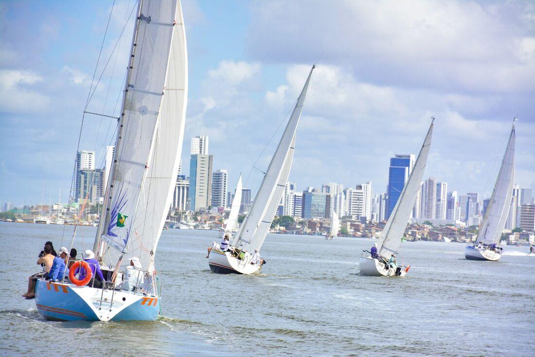 Largada da Regata Nelcy Campos será realizada no Marco Zero do Recife