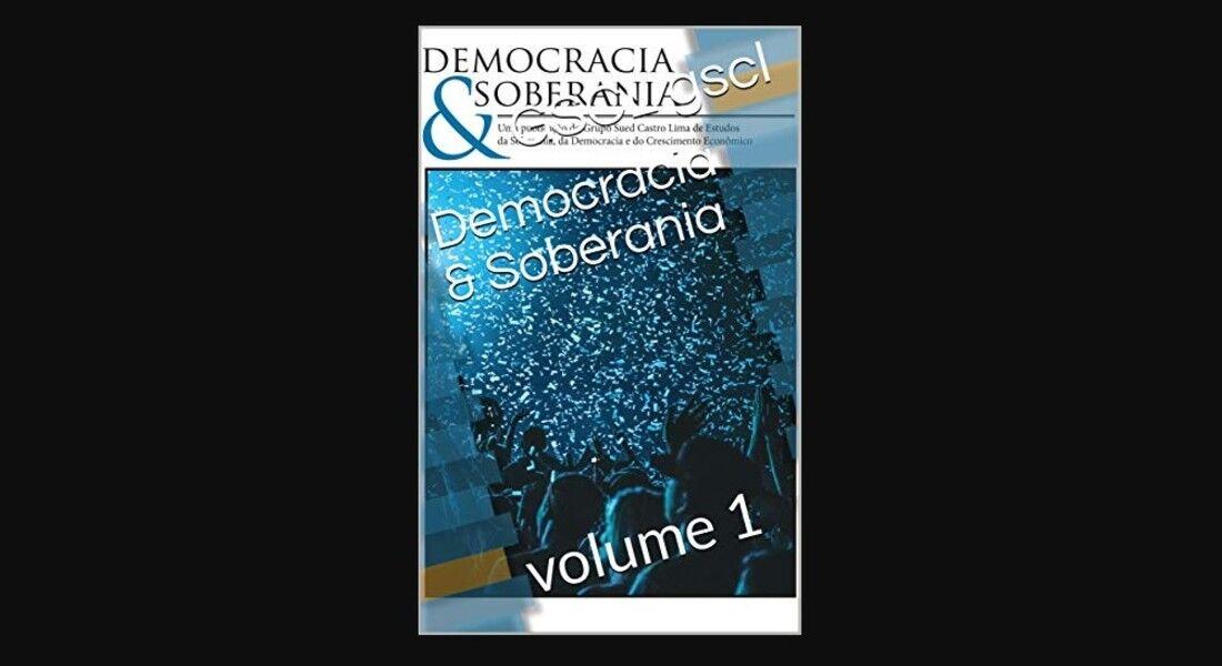 'Democracia & Soberania' está disponível pela Amazon