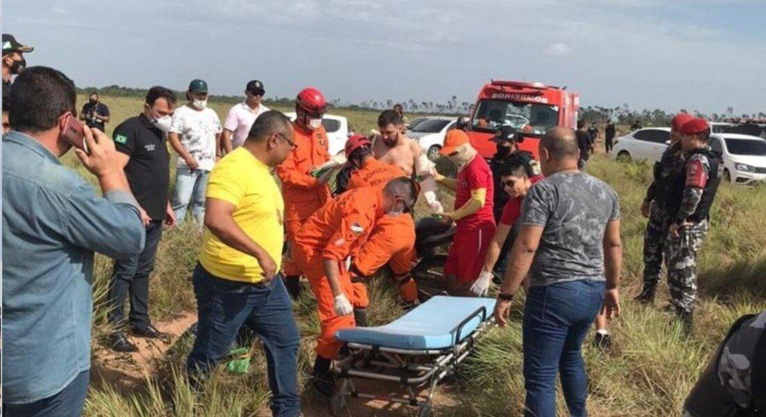 Apresentador foi encontrado e resgatado pelo Corpo de Bombeiros
