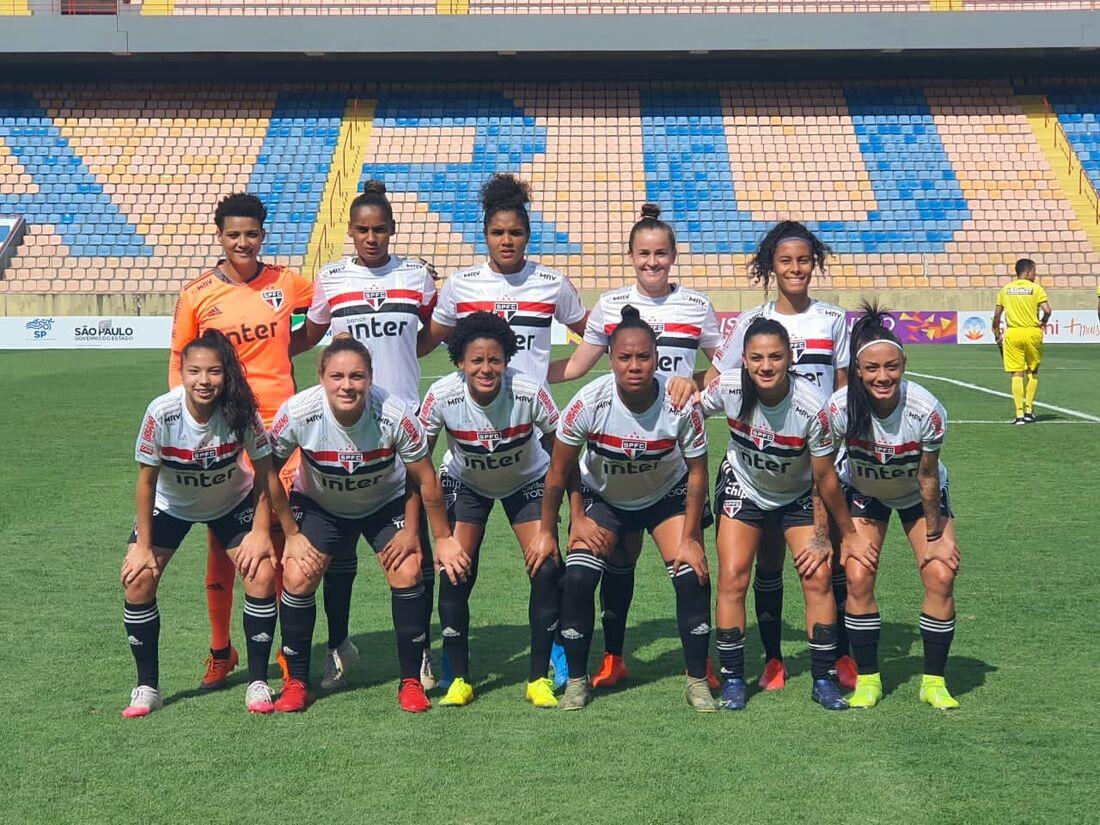 São Paulo feminino aplicou goleada histórica no Paulista da categoria
