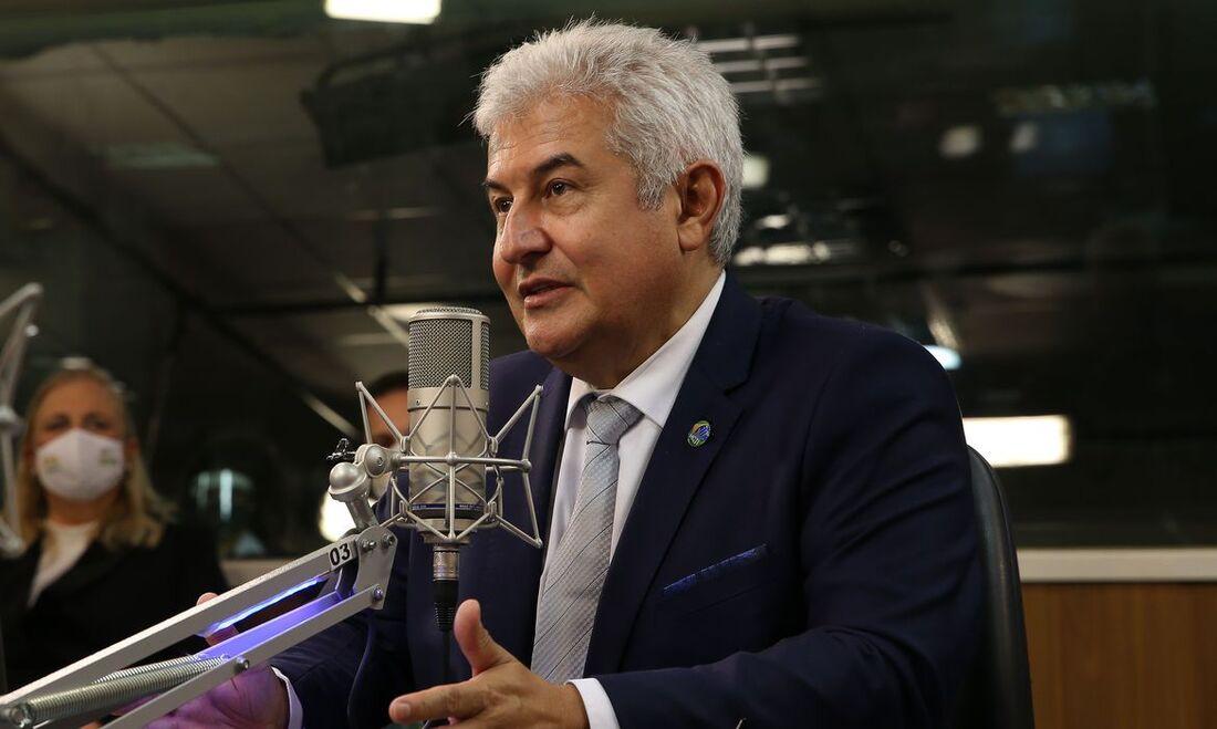 Ministro da Ciência, Tecnologia e Inovação, Marcos Pontes.
