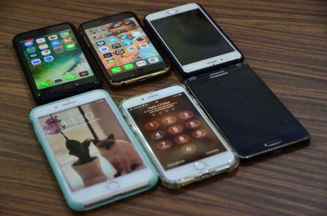 Serão feitas campanhas de conscientização informando sobre os riscos existentes com o extravio do celular