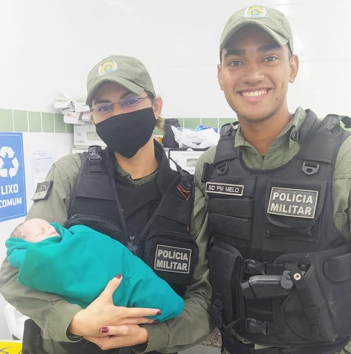 Policiais encaminharam a menina para o Hospital Municipal Mendo Sampaio