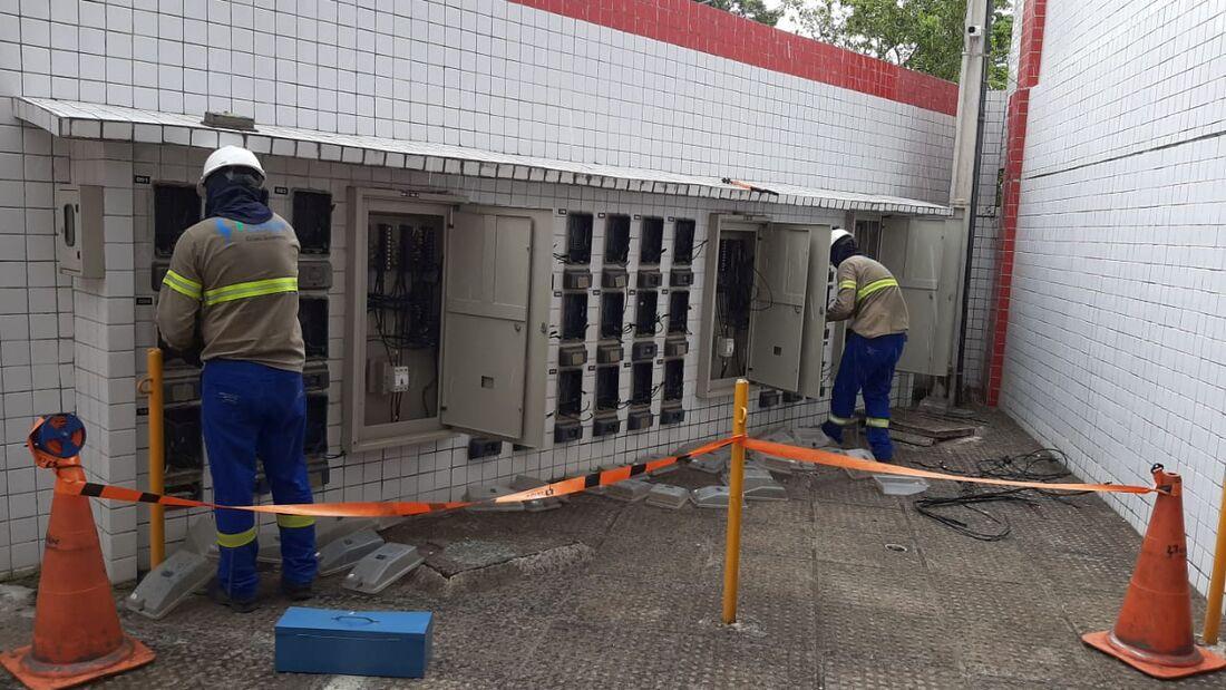 Operação da Celpe identificou desvio em 35 apartamentos em Olinda