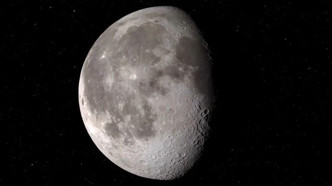 Pela primeira vez foi achada água na região da Lua iluminada pelo Sol