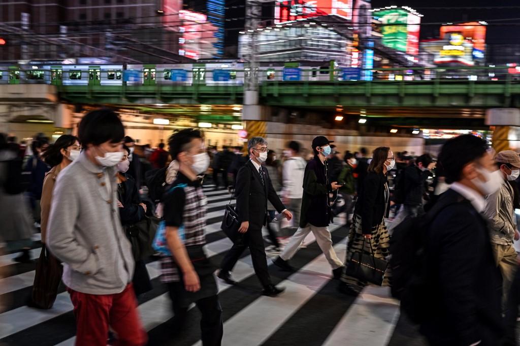 Movimentação em Tóquio