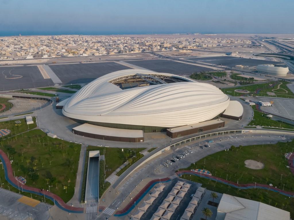 Estádio al-Janoub Stadium, na capital Doha, no Catar