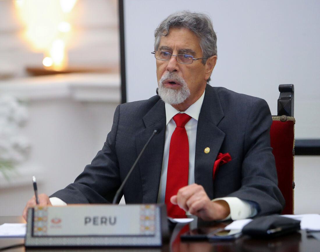Presidente do Peru, Francisco Sagasti