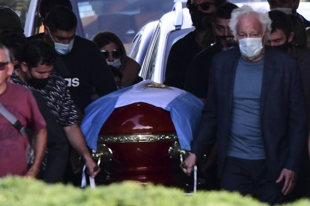 Enterro de Maradona