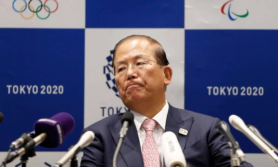Toshiro Muto, chefe executivo da Olimpíada