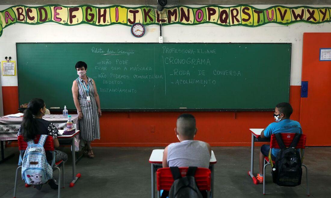 Escolas na pandemia