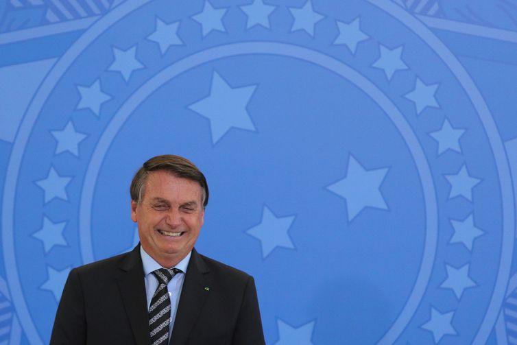 Jair Bolsonaro (sem partido), presidente do Brasil