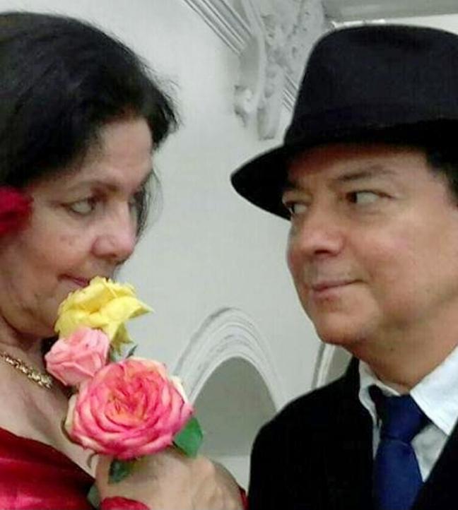 Na foto (de Marise Rodrigues), Patrícia Breda e Moisés Neto