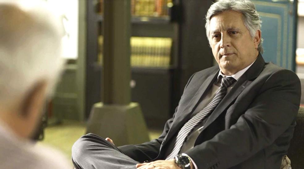 Eduardo Galvão, ator de 58 anos, está internado em hospital do RJ