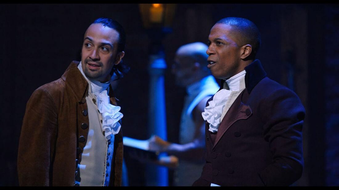 Cena de musical 'Hamilton'