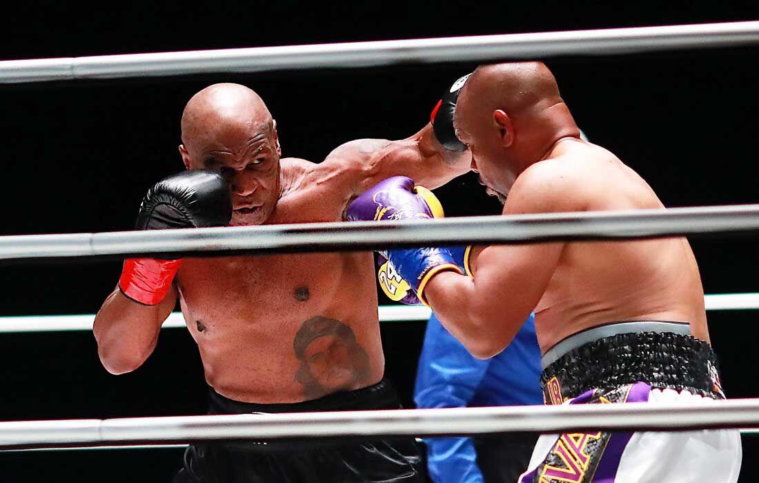 Luta entre Mike Tyson e Roy Jones Jr.
