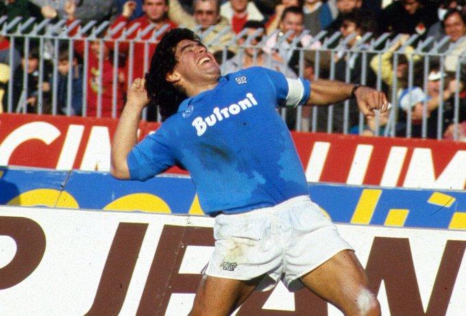 Maradona foi ídolo do Napoli