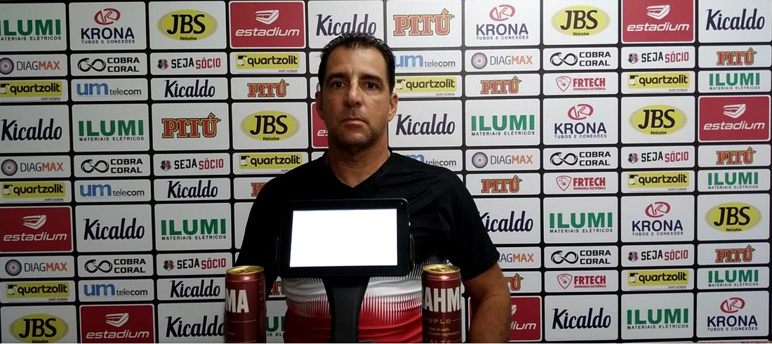 Treinador do Santa Cruz, Marcelo Martelotte