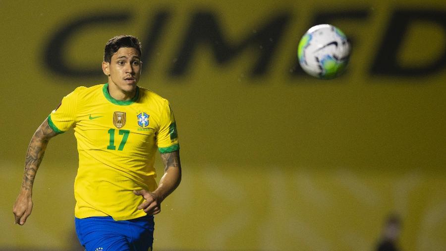 Pedro, atacante do Flamengo