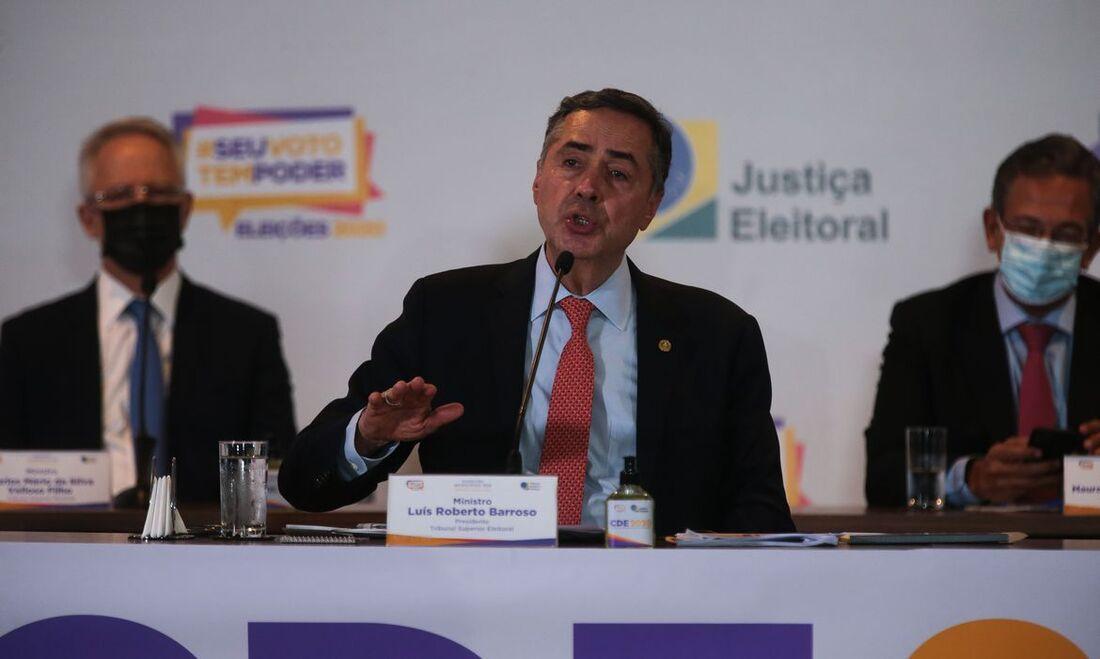 Luís Roberto Barroso, presidente do TSE