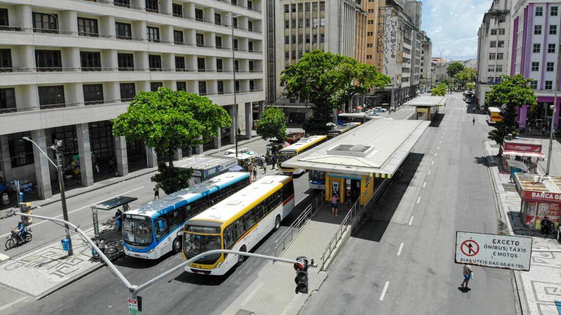 Estação BRT no Recife
