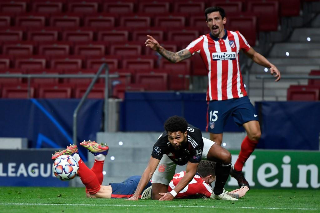 Atlético de Madrid empata com Bayern