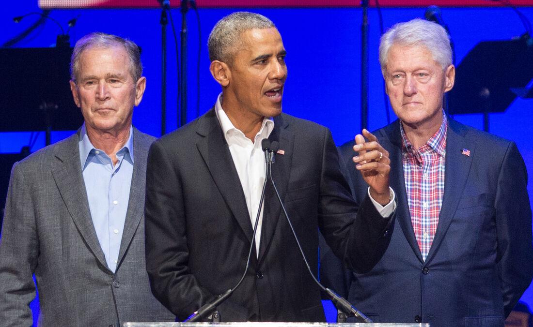 Os três ex-líderes americanos se ofereceram para tomar a vacina contra Covid-19