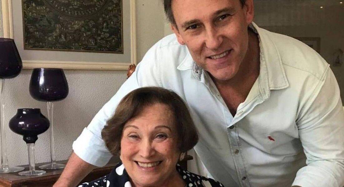 Paulo Goulart Filho e sua mãe, Nicette Bruno