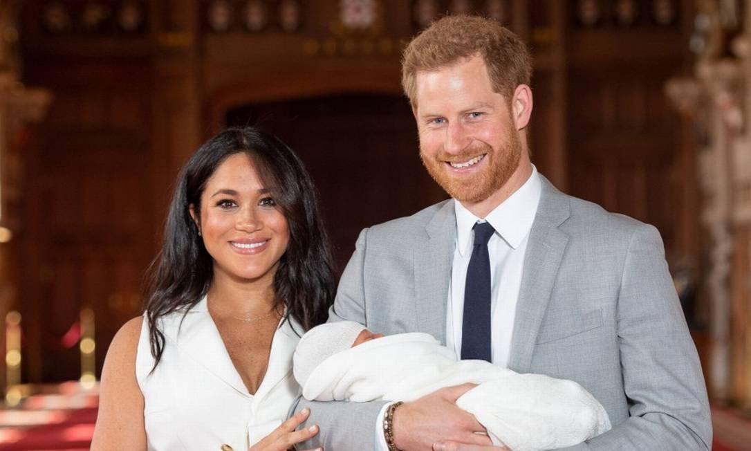 Meghan Markle, Príncipe Harry e seu primeiro filho, há um ano