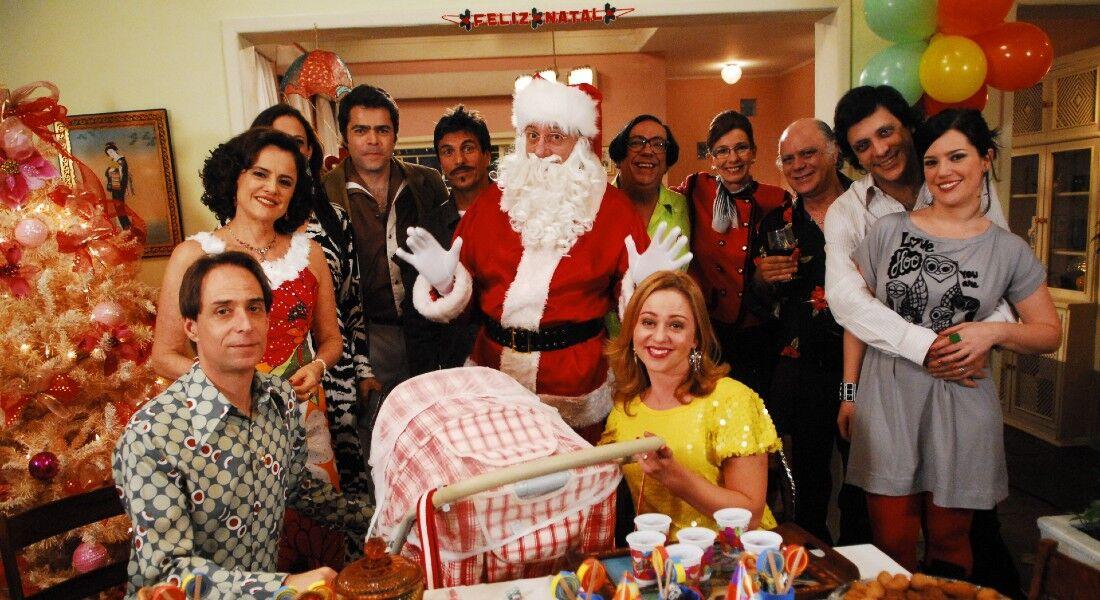 Globo reprisa especial de natal da série 'A Grande Família'