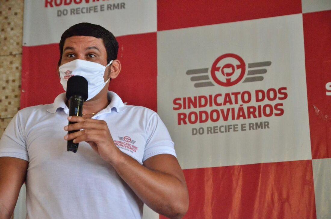 Aldo Lima, presidente do sindicato