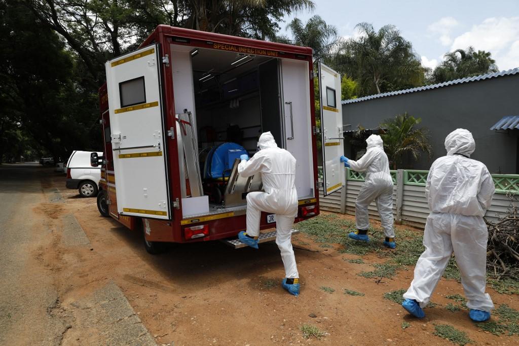Coronavírus na África do Sul