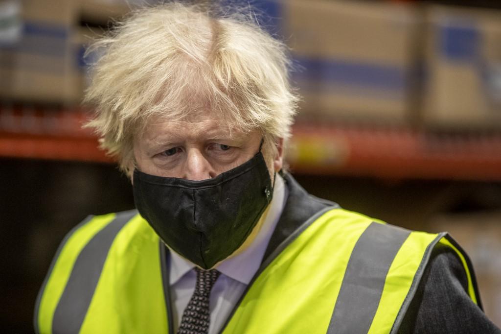 Primeiro-ministro britânico, Boris Jhonson