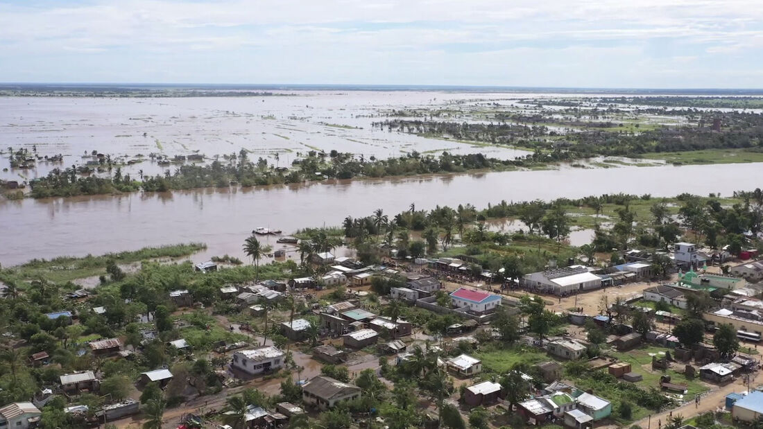 Moçambique depois do ciclone Eloise