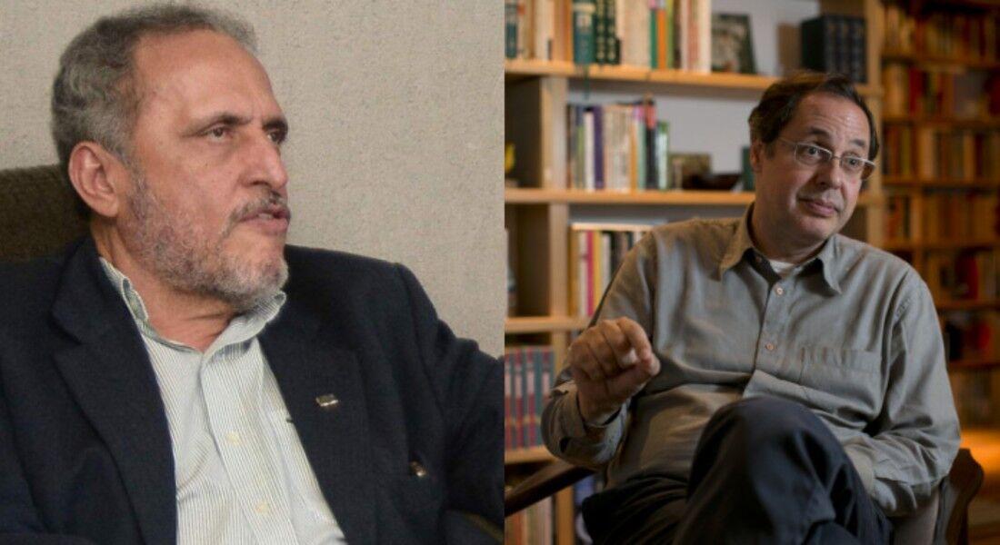 Alfredo Bertini entrevista Eduardo Giannetti em live do Cine PE