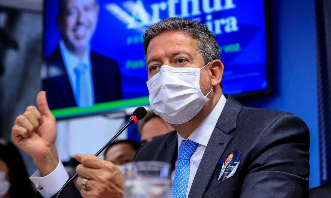 Candidato do governo à presidência da Câmara dos Deputados, Arthur Lira