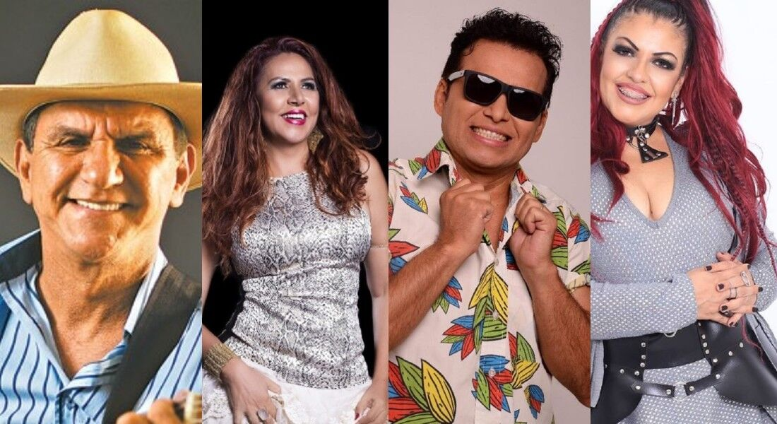 Petrúcio Amorim, Cristina Amaral, Almir Rouche e Palas Pinho em campanha solidária