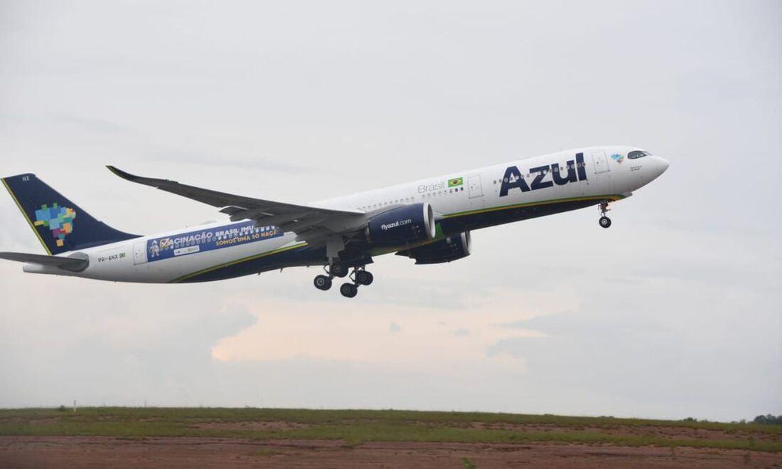 Se tudo correr conforme previsto, a Azul planeja começar a voar para oito cidades amazonenses