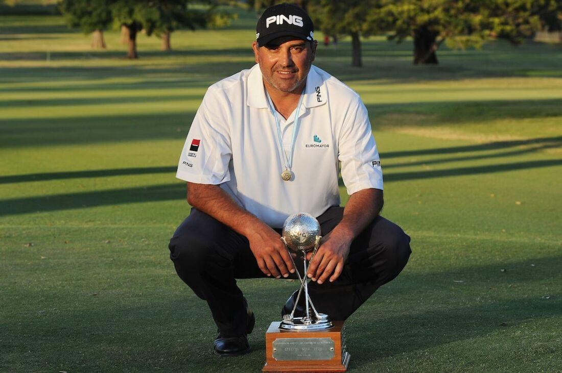 """Ángel """"El Pato"""" Cabrera foi campeão do US Open 2007 e do Masters de Augusta 2009"""
