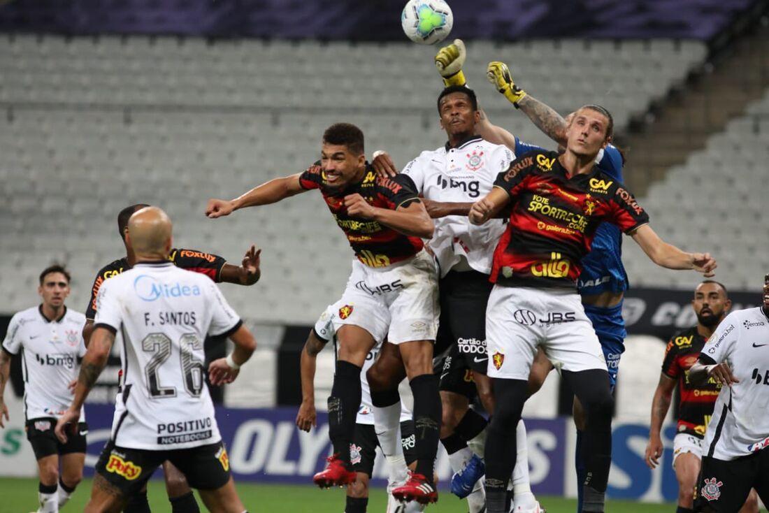 Lances de Corinthians x Sport