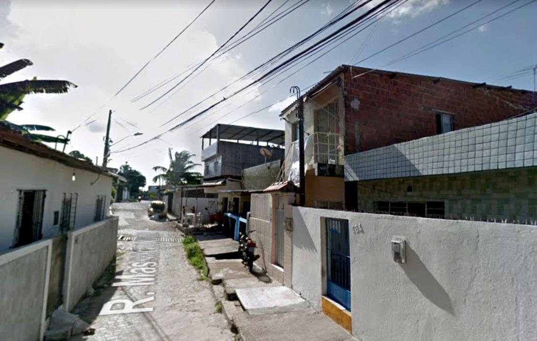 Rua Massaranduba, no Alto do Mandu