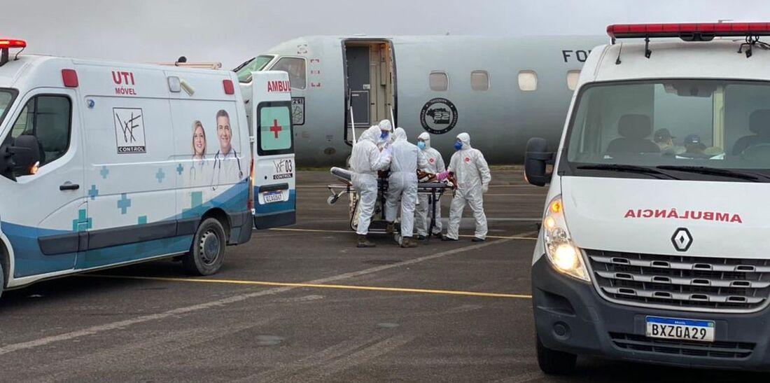 Transporte de pacientes de Manaus para outros estados