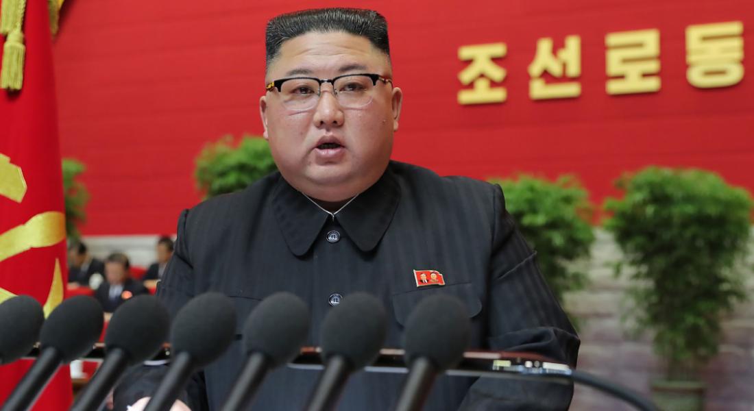 O presidente norte-coreano, Kim Jong-Un