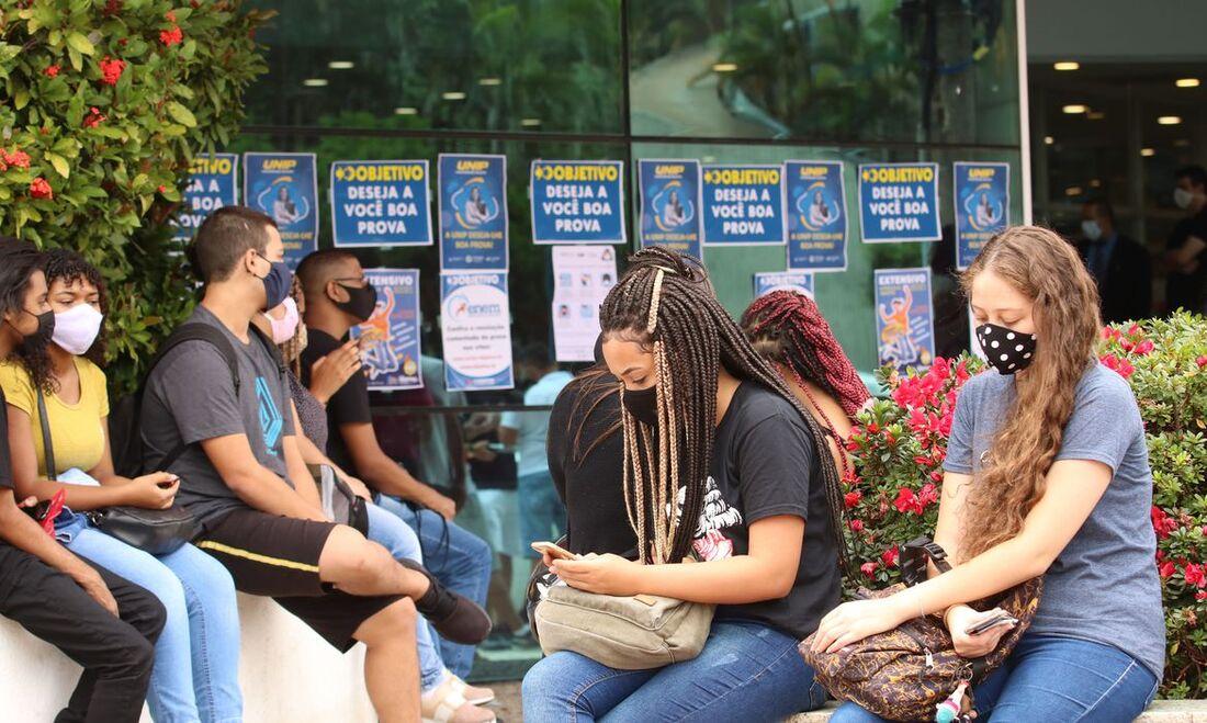 O segundo dia de provas do exame foi realizado no último domingo em todo o país