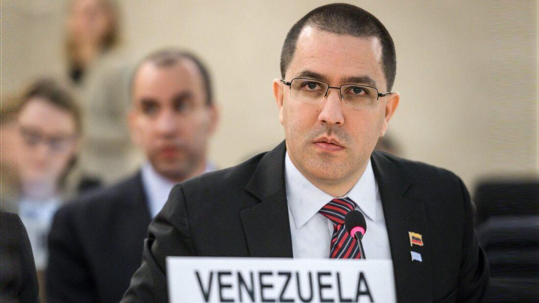 Jorge Arreazza, ministro das Relações Exteriores da Venezuela