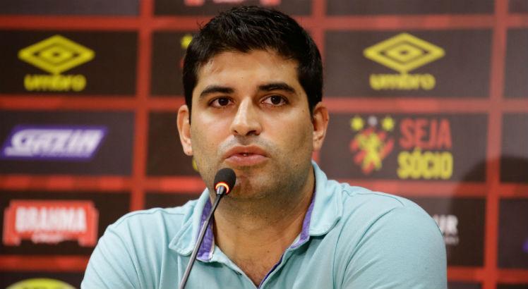 Lucas Drubscky esteve à frente da direção executiva de futebol do Sport entre 2019 e janeiro de 2021