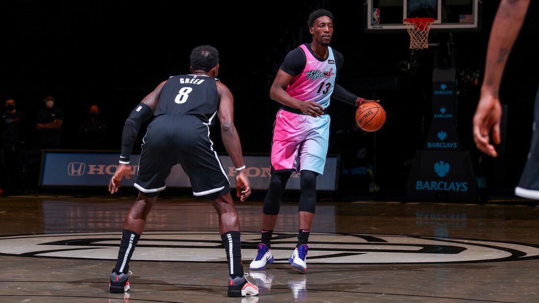 Brooklyn Nets x Miami Heat pela temporada 2020/21 da NBA