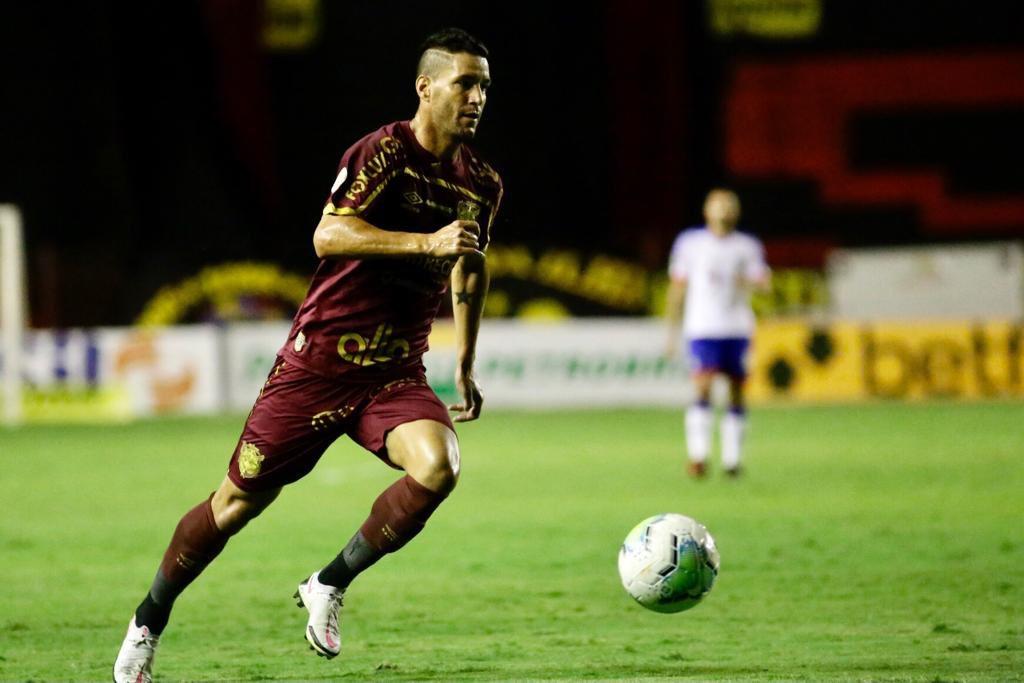 Thiago Neves durante a vitória sobre o Bahia