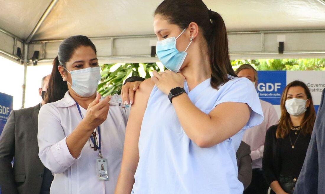 Vacinação em Brasília