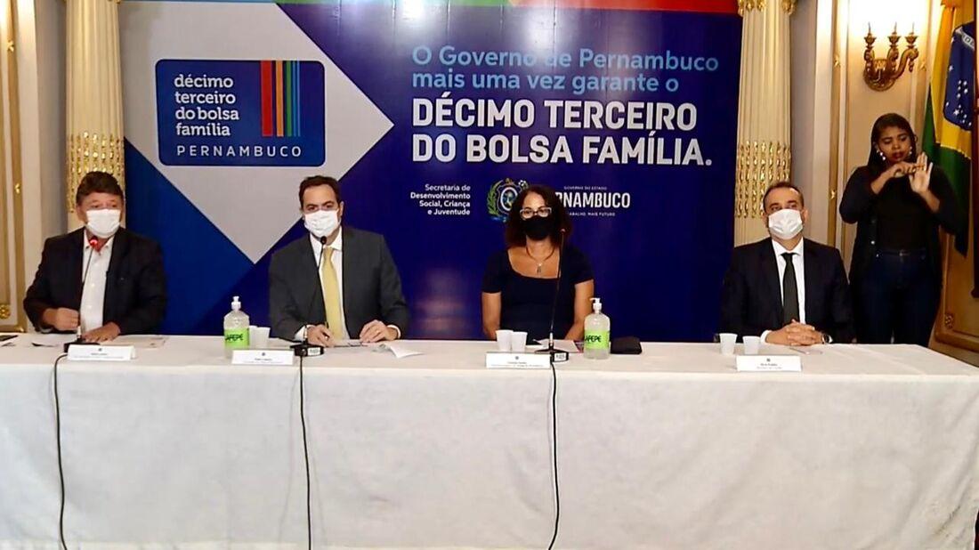 Governo de Pernambuco anunciou como funcionará o programa em Pernambuco